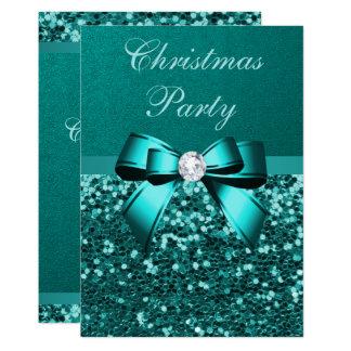 Carte Arc turquoise de diamant de parties scintillantes