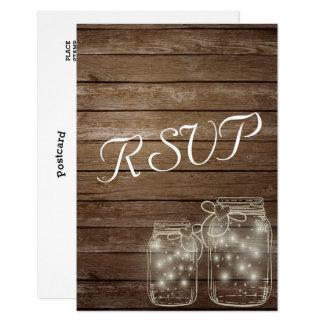 Carte Assortiment rustique élégant de lumières de pot de