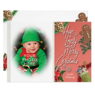Carte Ayez un beau et Joyeux Noël