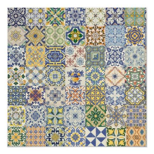 Carte Azulejos Patchwork