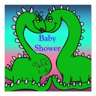 Carte Baby shower d'amour de Dino