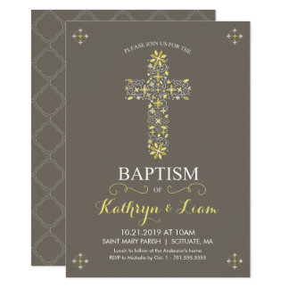 Carte Baptême, baptême Invitatio, fille et ou garçon