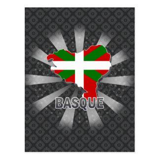 Carte Basque 2,0 de drapeau Carte Postale