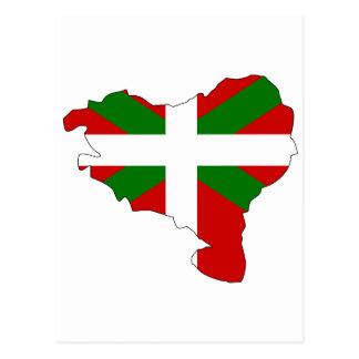 Carte Basque de drapeau Cartes Postales