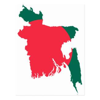 Carte BD du Bangladesh