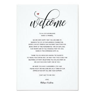 Carte bienvenue et itinéraire v1 de mariage