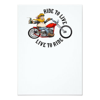 Carte biker motard ride to live
