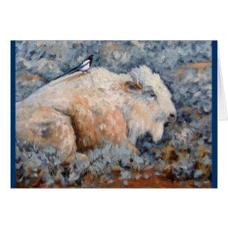 Carte blanche spirituelle de beaux-arts de Buffalo