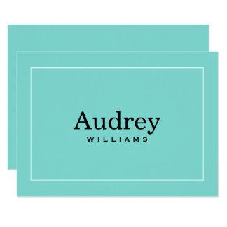 Carte Bleu d'Aqua personnalisé par appartement de la