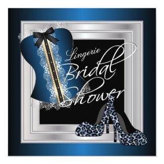 Carte Bleu nuptiale de la douche | de lingerie