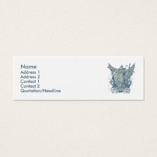 Carte bleue de profil de Libertas