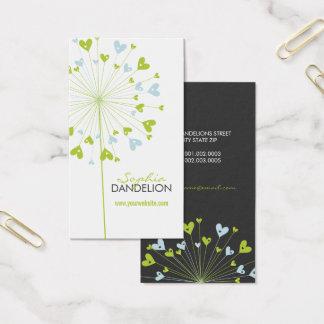 Carte bleue de profil de mariage de coeurs d'amour