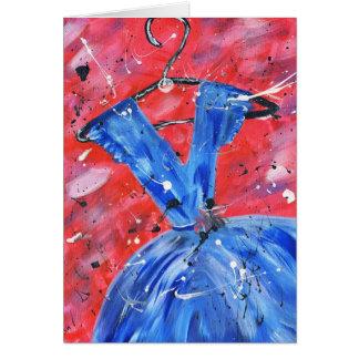 Carte bleue de robe