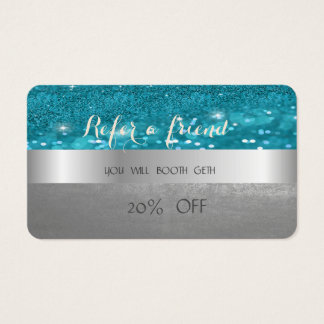 Carte bleue fascinante élégante élégante de