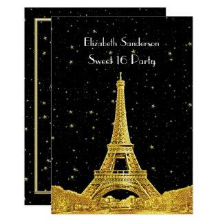 Carte Bonbon étoilé 16 V à l'horizon #2 Bk de Paris