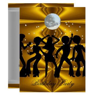 Carte Boule de disco de fête d'anniversaire de danse de