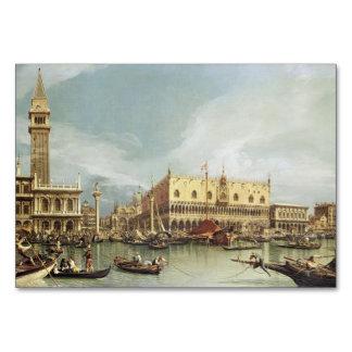 Carte Canaletto - le Molo, Venise