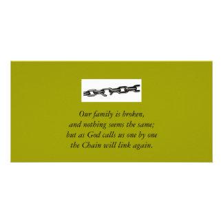 Carte cassée de famille