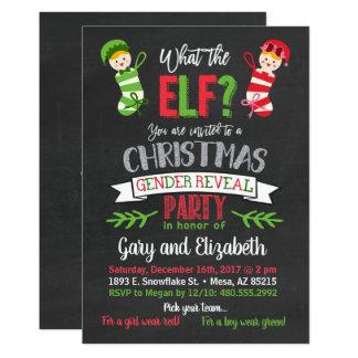 Carte Ce qui le genre de Noël d'Elf indiquent
