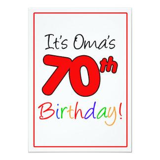 Carte Célébration de fête d'anniversaire de l'étape