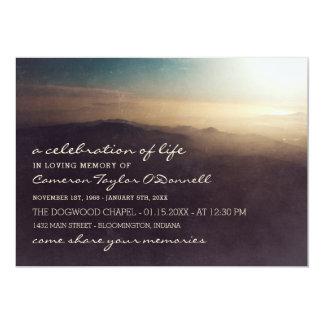 Carte Célébration du lever de soleil | de montagne de la