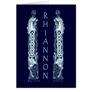 Carte celtique de cheval de Rhiannon