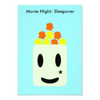 Carte C'est soirée cinéma toute la nuit : Sleepover