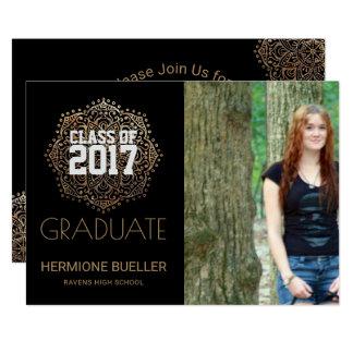 Carte Classe de l'obtention du diplôme 2017 de photo du