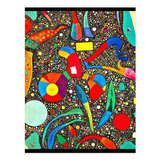 Carte-Classique/Cru-Wassily Kandinsky 37 Carte Postale