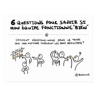 """Carte coaching d'équipe """"5/6 : Suivi des actions"""""""