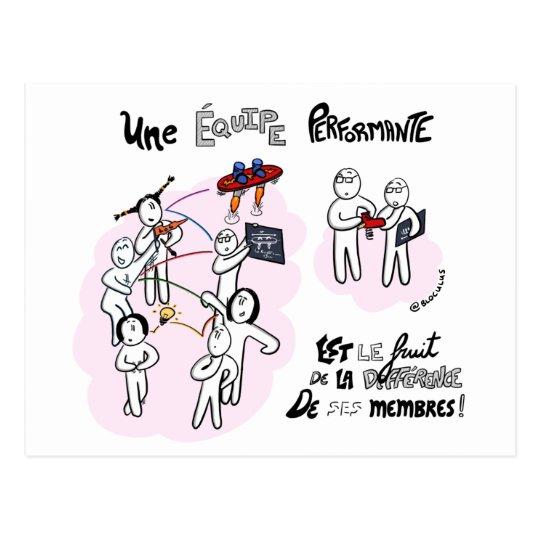 "Carte coaching ""Différence et performance"""