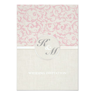 Carte Collection rose de mariage de SmartElegance