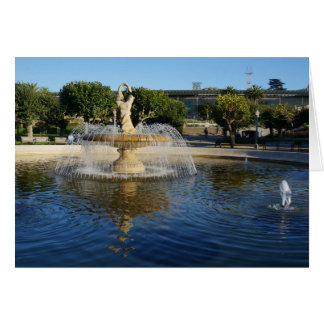 Carte commémorative de fontaine de SF Rideout