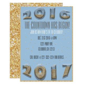 Carte Compte à rebours de nouvelle année de sablier