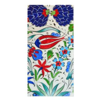 Carte Conception florale turque