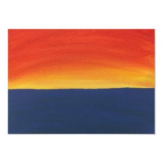 Carte Coucher du soleil atlantique