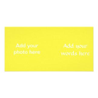 Carte Couleur solide de jaune délicieux de lis
