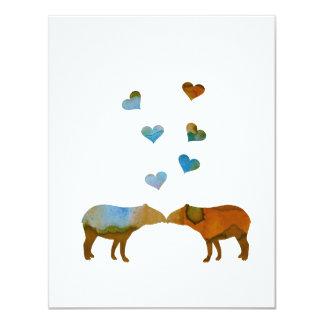 Carte Couples de tapir