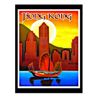 Carte-Cru Voyage-Hong Kong Cartes Postales