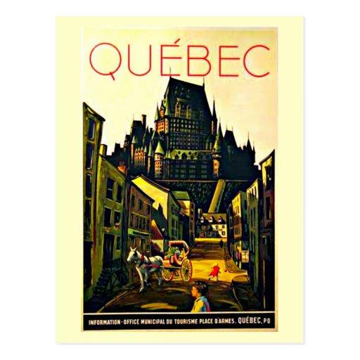 Carte-Cru Voyage-Québec Cartes Postales