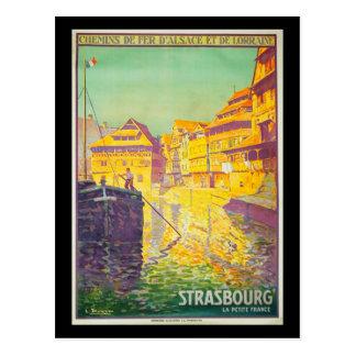 Carte-Cru Voyage-Strasbourg Cartes Postales