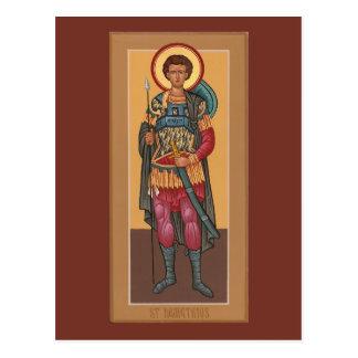 Carte customisée de prière de St Demetrius Cartes Postales
