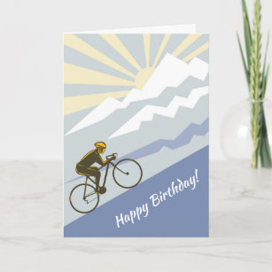 Cartes Velo D Anniversaire Zazzle Fr