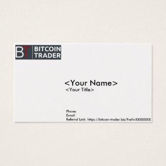Carte d'affaires/contact de Bitcoin-Commerçant
