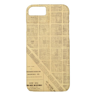 Carte d'affaires de San Francisco Coque iPhone 7