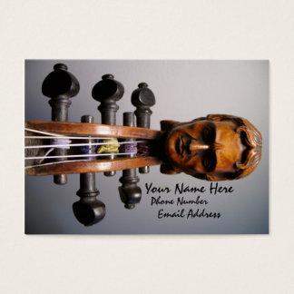 Carte d'affaires/profil de rouleau de Paganini