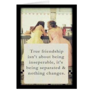 Carte d'amitié