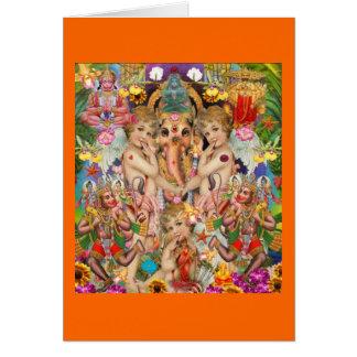 Carte d'amour de Ganesh