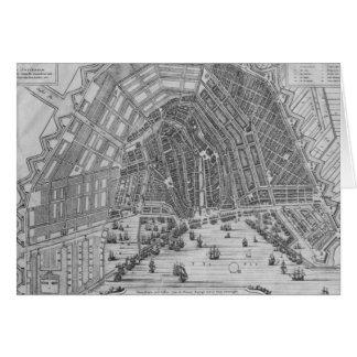 Carte d'Amsterdam, 1662