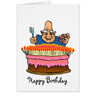 Carte d'anniversaire adulte drôle